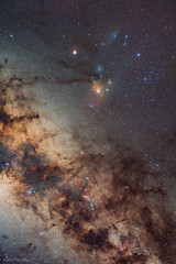 Scorpius widefield (Eddie Yip) Tags: star australia saturn kingscanyon  northernterritory milkyway scorpius kingscreekstation   petermann  skytracker   ioptron  760d