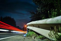 Autobahn - Kraftwerk (bas.handels) Tags: longexposure longexpo slowshutter night street car nacht langesluitertijd sluitertijd shutter avond lucht sky heerlen parkstad straat limburg