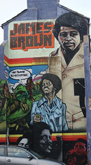 James Brown (CptSpeedy) Tags: artwork art graffiti paint painting spraypaint building mural tag godfather soul musician brighton england unitedkingdom uk streetart