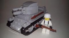 Lego Bt-42 (LOGICALbrick) Tags: world war lego ii ww2 finnish bt42