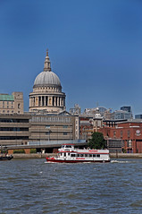 Bit of Sight Seeing in the Bity City (garstangpost.t21) Tags: london riverthames stpaulscatheral