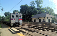 SEPTA 155 at Merion (CPShips) Tags: septa paolithorndaleline ge silverliner merion