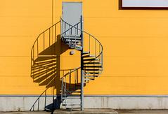 Dancing light & shadows (Poupetta) Tags: tallinn estonia staircase light shadows