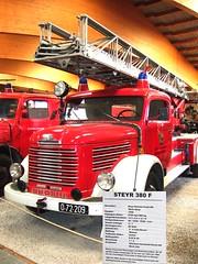 STEYR 380 F - 1955 (John Steam) Tags: 1955 vintage humboldt diesel bad oldtimer feuerwehr ulm werk steyr drehleiter deutz ffw ischl freiwillige klckner gallneukirchen dl22 380f