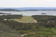 0D6A2181 - Lake Macquarie Aiport from the Air (Stephen Baldwin Photography) Tags: joy flight airborne training gyro copter lake macquarie nsw australia lanscape landscape water ocean trees buildings city