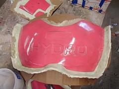 Chest Ready to Mold (thorssoli) Tags: schick hydro robotrazor razor sdcc comiccon sandiego conx entertainmentweekly costume suit prop replica hydrorescue schickhydro