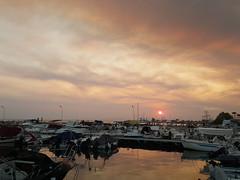 Sunset f (spicros78) Tags: samsungg920f samsunggalaxys6 sunset sun sea glyfada greece walking summer hot relaxing calm
