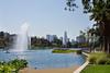 Echo Park Lake & Downtown LA (Rich Road) Tags: losangeles echopark echoparklake lotusflowers lilies