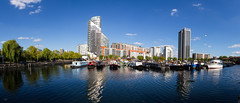 The Cut to the Thames August 2016 (37 of 42) (johnlinford) Tags: canon canonefs1022 canoneos7d docklands london marina panormama uk urban landscape