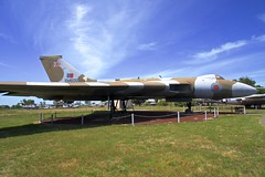 Vulcan B.2 British Bomber (<<Purple Bullet>>) Tags: castle air museum b17 b24 b29 b36 b47 b52 vulcan sr71 bomber fighter aircraft plane sonya6000 zeiss