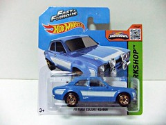 "70 FORD ESCORT RS1600 ""Fast & Furious""  - HOT WHEELS (RMJ68) Tags: ford escort rs1600 rs 1600 fast and furious 6 hw hot wheels mattel diecast coches cars juguete toy 164 70 1970"