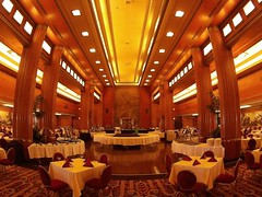 Queen Mary Dining Room (Tech109) Tags: ship oceanliner queenmary goldenage diningroom