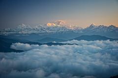 Mount Kangchenjunga viewed from Sandakphu at altitude of 3636 m (CamelKW) Tags: mountain sunrise himalayas sandakphu kanchenjungha phalut singalilatrek