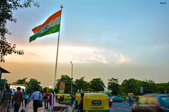 Connaught Place, New Delhi (Rastafarian_blog) Tags: travel india place market flag delhi explore cp newdelhi connaught