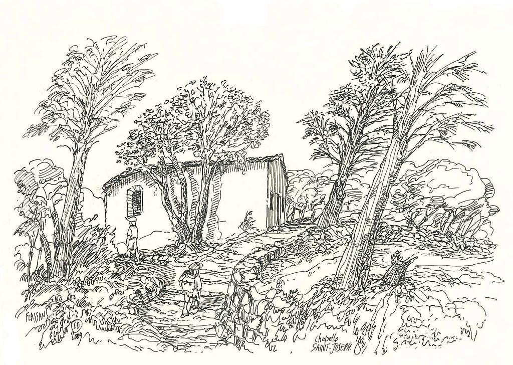 Ruines du Vieux Village - Chapelle Saint Joseph