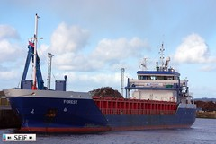 FOREST Cargo/Container ship Ayr harbour 2015 (seifracing) Tags: forest boats scotland europe ship harbour scottish cargo ayr spotting strathclyde imo ecosse 2015 cargocontainer mmsi vesseles seifracing 9313773 244864000