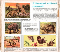Pag. 22 (RobinGoodfellow_(m)) Tags: animals album stickers figurine panini prehistoric animali dinosaurs dinosauri preistorici