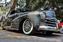 La Verne Cool Cruise 2014 (USautos98) Tags: 1948 chevrolet fleetline aerosedan bomb classiccar chevy