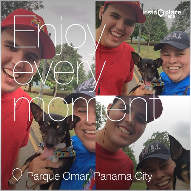 #instaplace #instaplaceapp #ourinspiration #manuel #handicapp #life #blessing #god #place #earth #world  #panama #PA #panamacity #parqueomar #street #day #omarpark #nature #mike #chihuahua #training