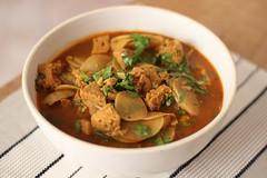 Caldo verde (anaclara_luppi) Tags: soup vegan potato vegetarian shoots eats kale couve batata caldo caldoverde vegetariansausage comidavegetariana comidavegana linguiavegetariana