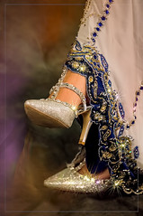best foot forward (jayar31) Tags: shoes sparkle bejewelled indiandress