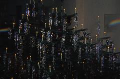 08 Weihnachten 1981 (Rüdiger Stehn) Tags: winter analog 35mm germany weihnachten deutschland europa slide indoor dia scan weihnachtsbaum schleswigholstein norddeutschland mitteleuropa innenaufnahme analogfilm kronshagen kleinbild tricklinse minoltasrt100x canoscan8800f kbfilm 1980er effektfilter prismenfilter diapositivfilm