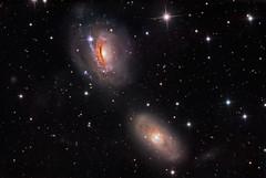 NGC 3166 and 3169 (Warren Keller) Tags: