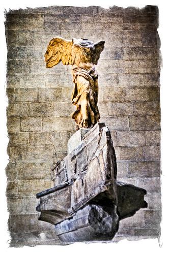 1967 08 Winged Victory of Samothrace - Musée du Louvre, Paris