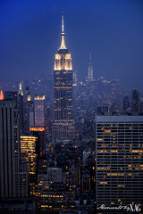 Empire State Building (Moments by Xag) Tags: newyork building night luces noche nikon state empire nuevayork ligths 2470mm d610 xag ltytr1
