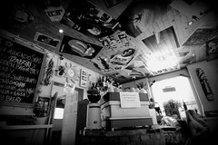 Beaches Cafe (Crisp-13) Tags: street white black monochrome kent cafe angle wide beaches albion broadstairs