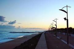 Anglet (mrjcrr) Tags: ocean city morning sea sky sun mer france beach colors clouds sunrise landscape soleil surf view surfer ciel nuages six paysage plage vue ville matin paysbasque sudouest anglet