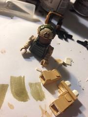 WIP (School is dangerously approaching) (~R4Y) Tags: military progress custom lego
