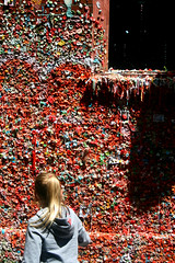 Seattle Gum Wall (mommyster) Tags: seattle wall gum market pikeplace