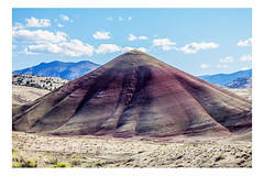 Painted Hills in the John Day Fossil Beds National Monument, Oregon (PhotoDG) Tags: oregon fossil paintedhills nationalmonument johnday johndayfossilbedsnationalmonument fossilbeds