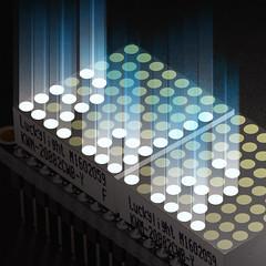 "Adafruit 0.8"" 8x16 Matrix FeatherWing Display Kit Various Colors (adafruit) Tags: colors matrix lights electronics displays kits leds brightlights adafruit diyelectronics matrixdisplay devboards pid3155"