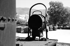 VOLOS, GREECE (Andrew Mansfield - Sheffield UK) Tags: steam trains railways tren treni treno volos greece steamengine ferrocarril lamp light