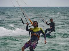 kitesurf 07-7 (Artbywigs) Tags: action artbywigs extremesport kitesurfing lancing sea sport summer sussex water wigs