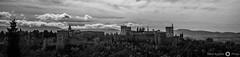 Alhambra (Perluti) Tags: granada alhambra españa spain andalucíaa 7 spring primavera luz light flickr nikon d3000 sigm70300mm perluti mikelaguirre arquitectura architecture nazarí patrimonio blackandwhite bw byn blancoynegro sky cielo nubes clouds sierranevada