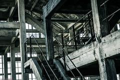 _O7A8981 (AntonyCASAFilms) Tags: urban abandoned monochrome concrete 3d factory belgium exploring plan marshall maze coal escher exploration derelict washing ue urbex