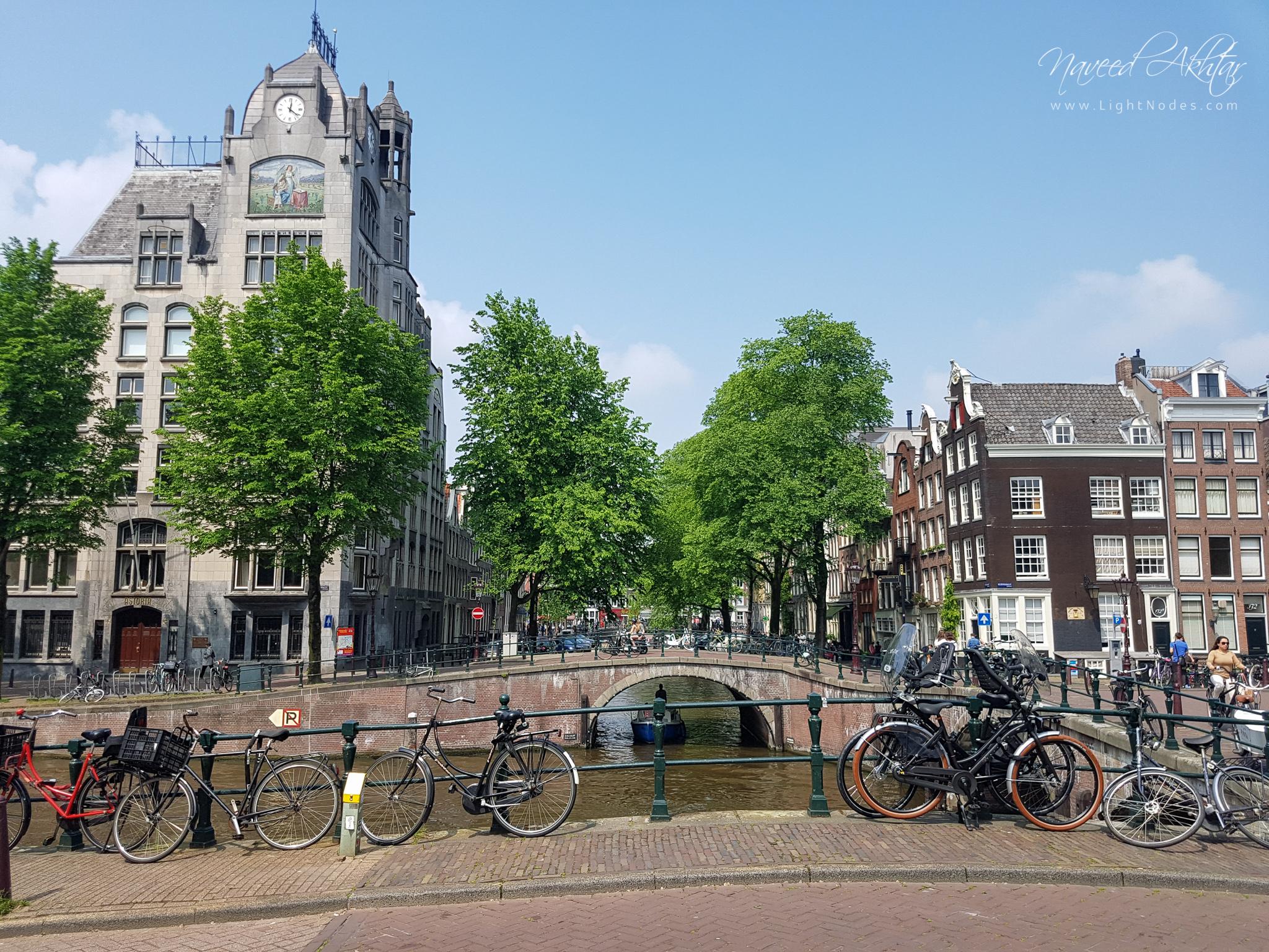 A Sunny Saturday in Amsterdam using Samsung S7 camera phone