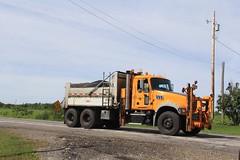 NYSDOT Manheim (4) (RyanP77) Tags: nysdot newyorkstatedepartmentoftransportation international mack granite plow snowplow snow larue blower dump truck dot new york viking cives henderson trucks trucking removal equipment