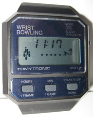 Tomy Tomytronic Wrist Bowling Watch Face (1982) (WishItWas1984) Tags: toy collectible collection tomy tomytronics bowling wristwatch wrist watch game digital 1980s 80s 1982 videogame vintage