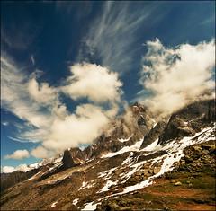 Mont Blanc range (Katarina 2353) Tags: summer france alps film landscape nikon chamonix frenchalps katarinastefanovic katarina2353