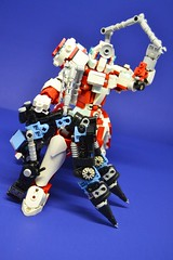 Medic_13 (Shadowgear6335) Tags: red white robot lego system technic medic bionicle moc shadowgear shadowgear6335