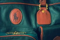 Leather suitcase (frankmh) Tags: leather suitcase leathersuitcase ralphlauren hittarp skne sweden outdoor