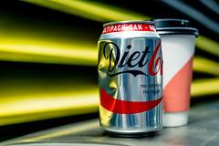 No Calories, No Sugar (Sean Batten) Tags: london england unitedkingdom gb dietcoke can drink cola rubbish city urban nikon df 60mm
