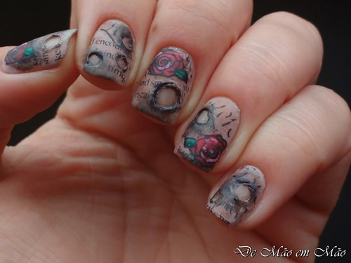 Antique Nail Art