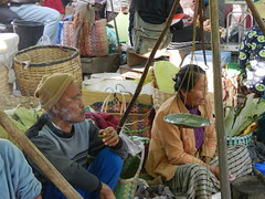 Kalaw (simo2582) Tags: people asian asia burmese shanstate shan birma birmania burma myanmar market kalaw human trade typical hilltribes tribes mountain hillstation village countryside travel reise blick unterwegs world traditional 5daysmarket groceries street smoking