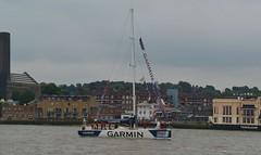 Garmin, Round the World Clipper Race, Greenwich, London (barry.marsh1944) Tags: garmin clipper greenwich london