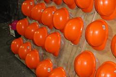 Ramsgate WW2 tunnels (Davydutchy) Tags: tatra hythe truk register uk annual rally meeting treffen classic car ramsgate tunnel air raid bomb shelter orange safety helmet helm hard hat july 2016